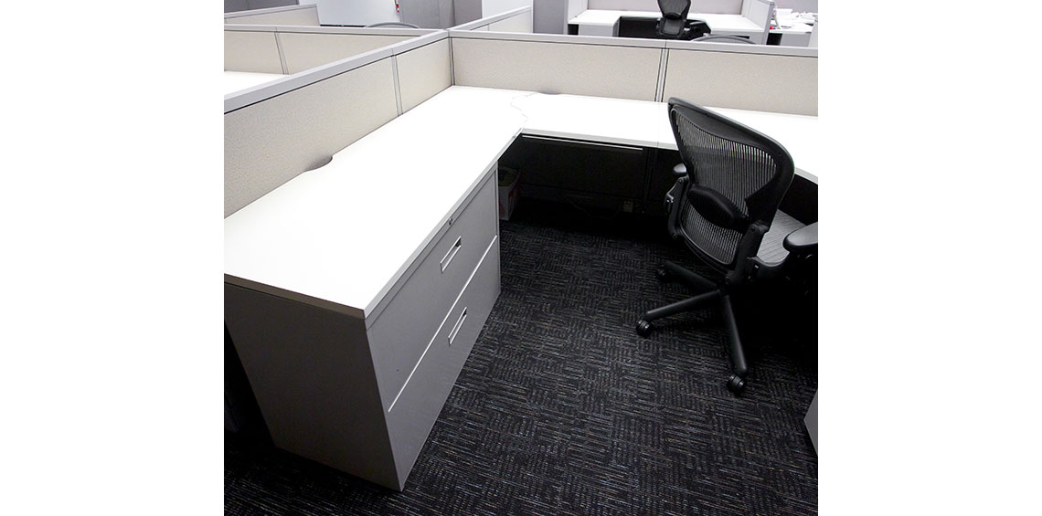 Remanufactured Steelcase Workstations